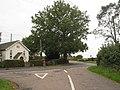Crossroads near Warehorne - geograph.org.uk - 996070.jpg