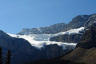 Crowfoot Glacier glacier in Canada