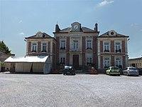 Curgies (Nord, Fr) mairie.JPG