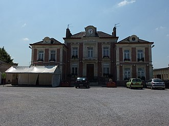 Cuincy - Image: Curgies (Nord, Fr) mairie