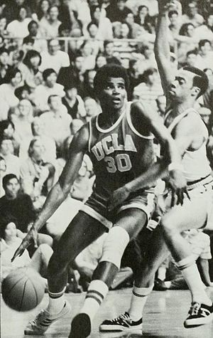 Curtis Rowe - Rowe from 1971 UCLA yearbook
