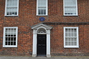 William Curtis - House on Lenten Street, Alton, where Curtis was born