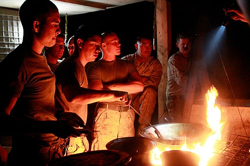 Custom kitchen, home-cooked meals bring Marines together in Afghanistan DVIDS231682