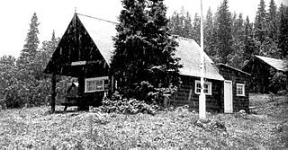 Cut Bank Ranger Station Historic District One of the first buildings built in Glacier by the National Park Service