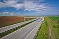 Dálnice D1 u obce, Dlouhá Ves, Vrchoslavice, okres Prostějov.jpg