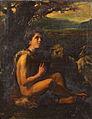 DéTANGER Germain Tableau Saint Jean-Baptiste Huile sur Toile 90 par 70 1887.jpg