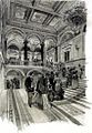 Dörre The Main Staircase of the Budapest Opera House c. 1890.jpg
