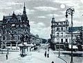 Düsseldorf, Elberfelder Straße Postkarte von 1898, Vorderseite, PK-center.jpg