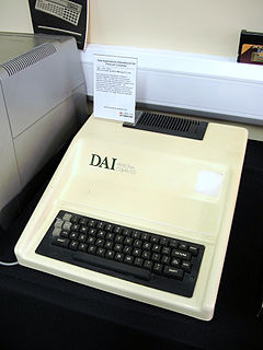 DAI Personal Computer early home computer from Belgium