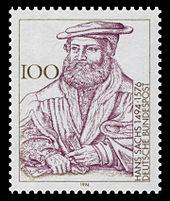 Sonderbriefmarke zum 500. Geburtstag (Quelle: Wikimedia)