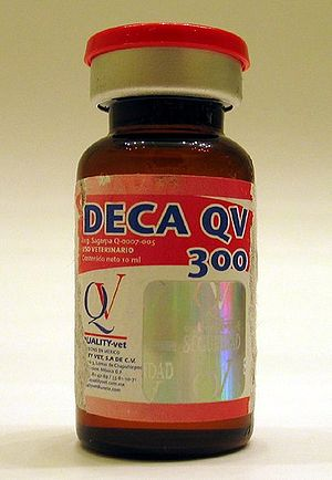 Nandrolone - QV Nandrolone Deca, a form of nandrolone used by athletes.