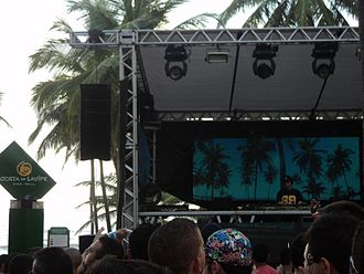 Peter Rauhofer - Peter Rauhofer performing live at the Hell & Heaven in Brazil (2010).