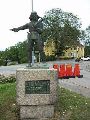 Nils Dacke - Statue of Nils Dacke in Virserum