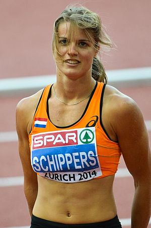 2014 European Athletics Championships - Dafne Schippers won the women's 100 and 200 metres