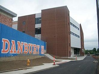Danbury High School - a new building apart of Danbury High School
