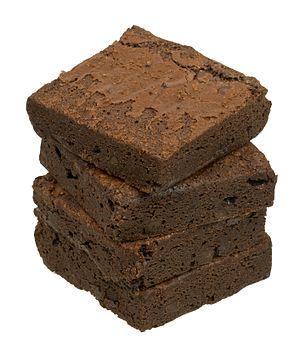 Chocolate brownie - Store-bought brownies