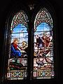 Dangé-Saint-Romain (Vienne) Église Saint-Pierre, vitrail 09.JPG