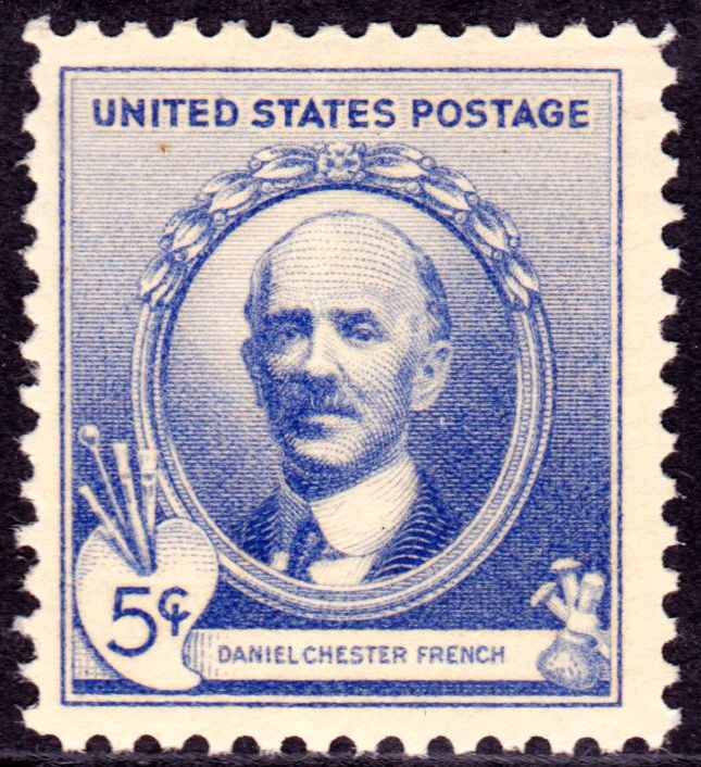 Daniel Chester French 1940 Issue-5c