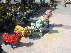 Chinese Peruvians -  Chinese Community in Peru - Dance of the Lion
