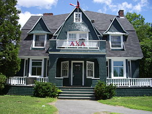 Dartmouth College Greek organizations - Alpha Chi Alpha, Dartmouth College, 2007.