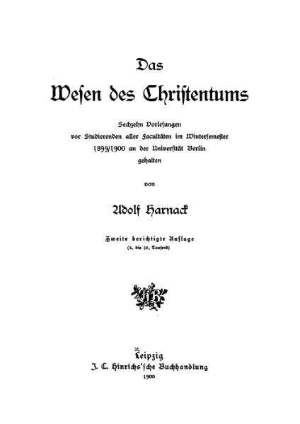 File:DasWesenDesChristentums.djvu