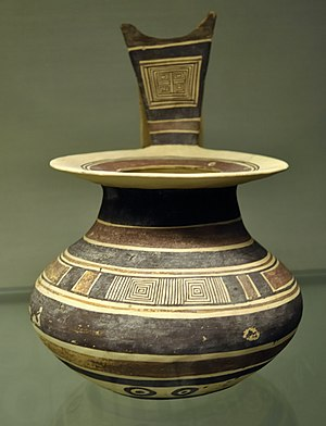 Province of Foggia - Daunian earthenware pot, 550–400 BC, found in Foggia.