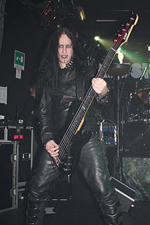 Dave Pybus British extreme metal musician
