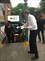 De Blasio at TWU Day of Action to Restore Station Booths & Agents (8973607122).jpg