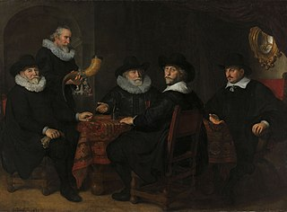 Four directors of the arquebusier's guild, Amsterdam, 1642