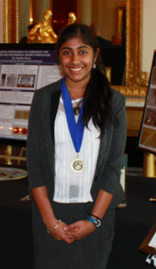 Deepika Kurup White House Science Fair.png