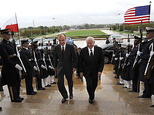 Bogdan Klich - With Robert Gates in the Pentagon (2010)
