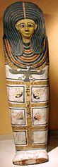 Antropoidalny sarkofag Nubnen