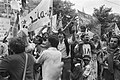 Demonstratie tegen Israel i.v.m. oorlog in Libanon, in Amsterdam, Bestanddeelnr 932-2490.jpg