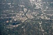 Des Moines, Iowa aerial 01A
