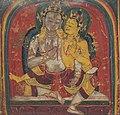 Detail, Tsakalis or Initiation Card, Maitreya, 13-14th century (cropped).jpg