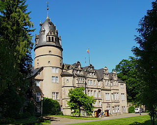 Detmold Place in North Rhine-Westphalia, Germany