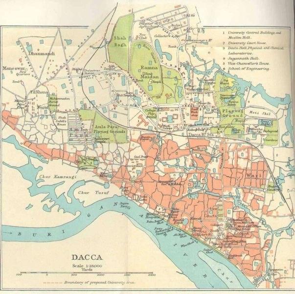 Dhaka during British rule 1924