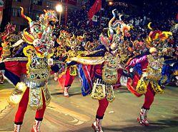 Oruro Carnival costumes