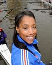 Diane Modahl launches 2009 Two Cities Boat Race cropped.jpg