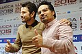 Diego Luna and Michael Peña - Lucca Comics & Games 2018 02.jpg