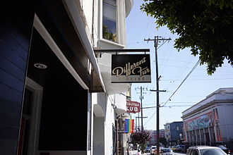 Different Fur - Location in the Mission District, San Francisco, next to The Lexington Club