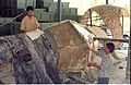 Diplodocus in Making - Dinosaurs Alive Exhibition - NCSM - Calcutta 1995 444.JPG