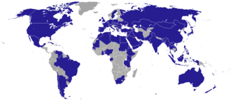 Foreign relations of Kuwait - Image: Diplomatic missions of Kuwait