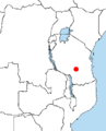 Distribution Rhynchocyon udzungwensis.PNG