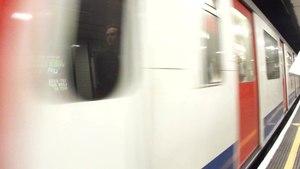 File:District line trains at St James Park.ogv