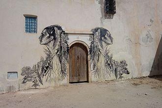 Swoon (artist) - A work by Swoon in Djerbahood, Tunisia