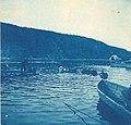 Dog team hauling barrels of water across the river, Dawson, 1898 (AL+CA 7117).jpg
