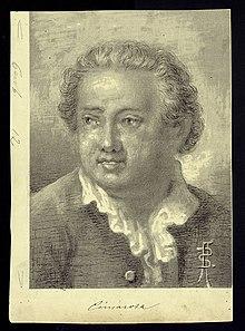 Portrait of Domenico Cimarosa, composer (1749-1801), before 1917. (Source: Wikimedia)