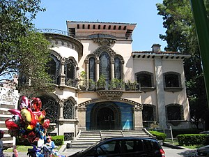 Polanco, Mexico City - The Domit House on Castelar Street