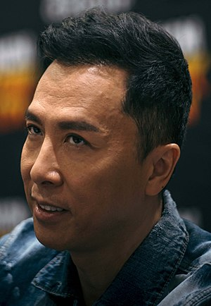 Donnie Yen - Yen at the 2017 MCM London Comic Con